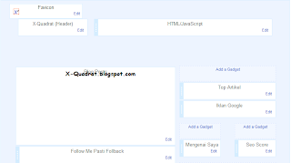 Download X-Quadrat Mega Dan Mini Template