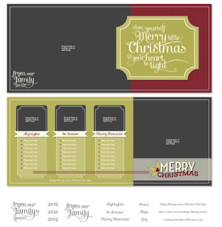 Light Heart Christmas Postcard Template - Digital Download  http://jennsavstamps.stampinup.net