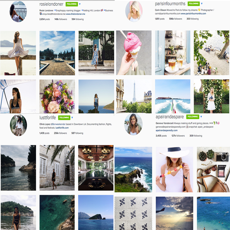 best lifestyle instagram accounts