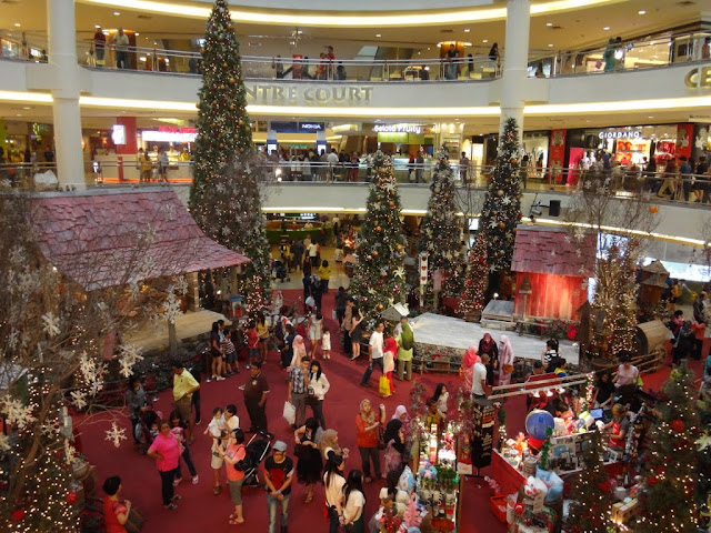 Christmas Mall Decoration in Mid Valley Mall in Kuala Lumpur, MALAYSIA