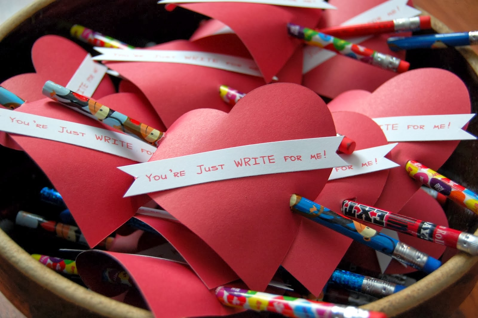 Richard chevy straight to the news diy kids valentine ideas for Valentine party crafts for school