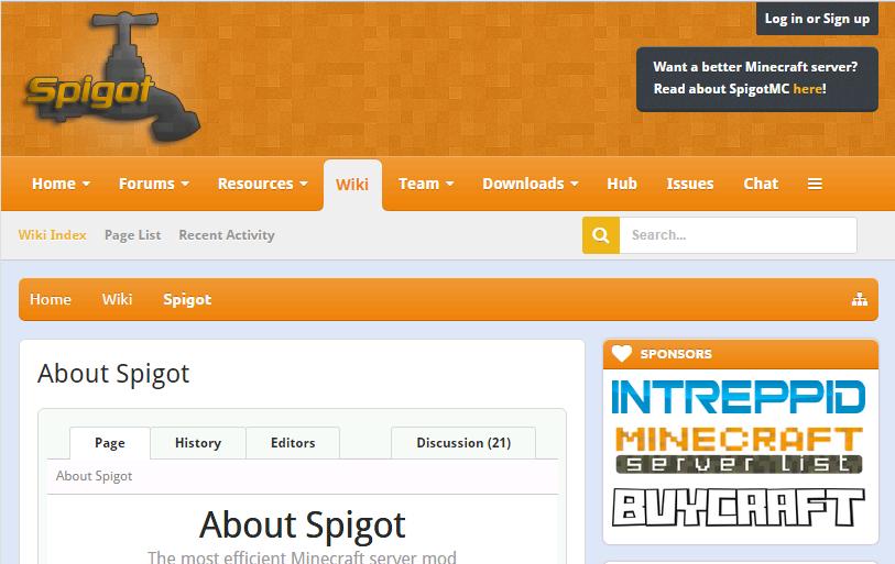 how to run spigot server