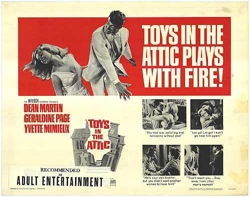 Toys in the Attic (1963)
