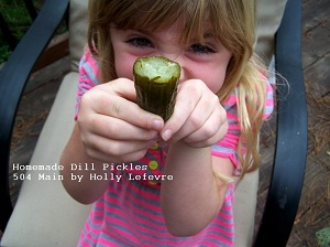 Homemade Pickles - It's Easy!