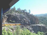durango and silverton railroad train