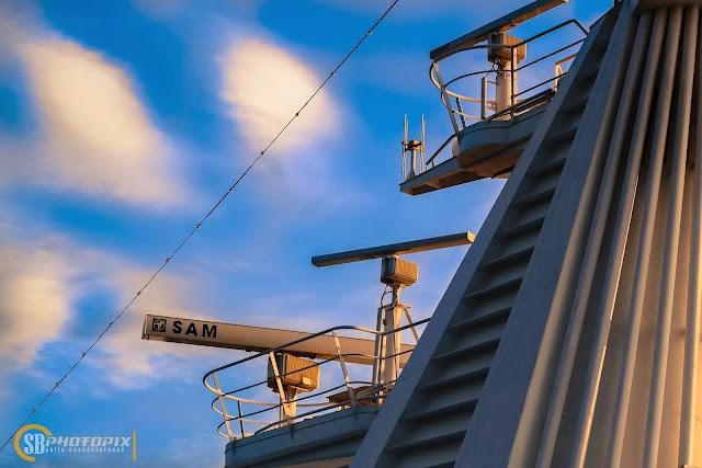 RADAR yang di ambil dari atas Kapal Superstar Libra
