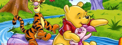 Belle couverture facebook winnie the pooh