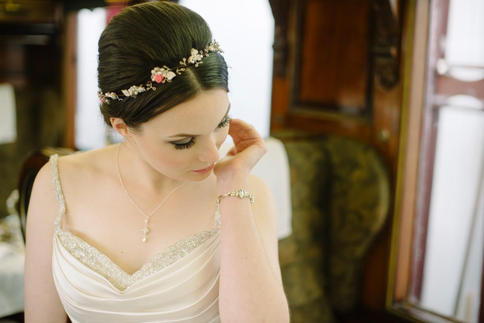 pink rose headband, flower tiara 2015,