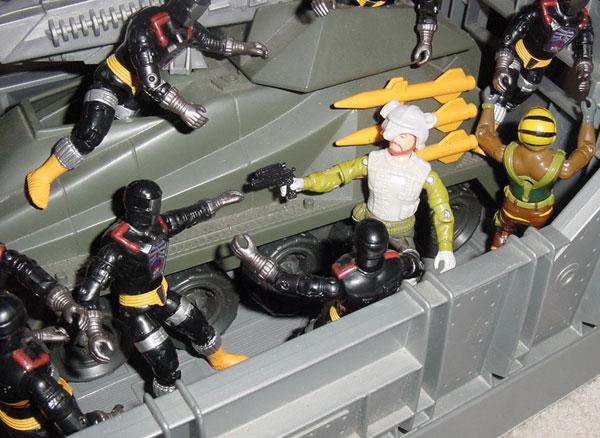 1989 Long Range, 2003 BAT, Battle Android Trooper, 1988 Tiger Force Roadblock, 1987 Persuader