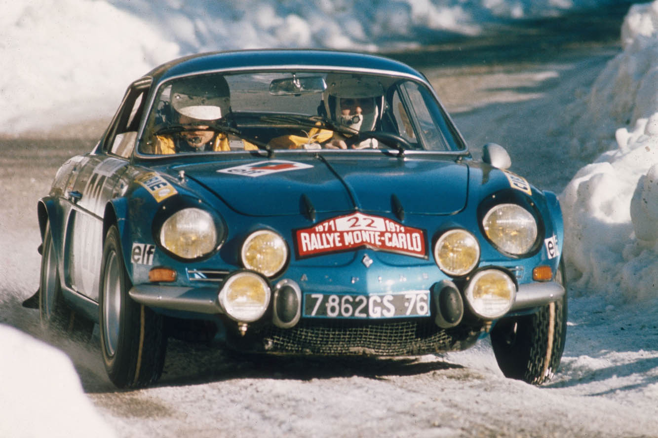 renault classic team engage 5 alpine a110 au rallye monte. Black Bedroom Furniture Sets. Home Design Ideas