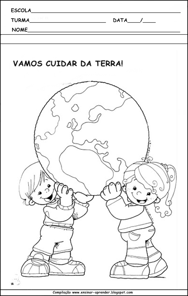 Amado MEIO AMBIENTE ATIVIDADES PARA EDUCAÇÃO INFANTIL | Cantinho do  HL69