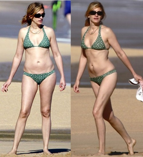 julia roberts nude legs
