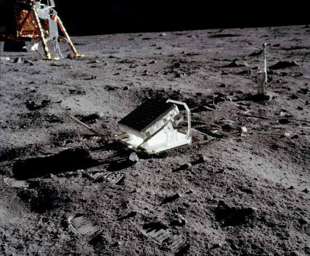 retorrefector en la luna