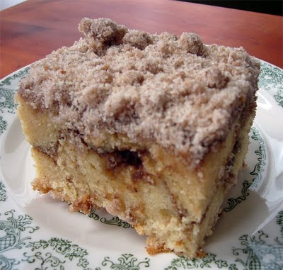 Cinnamon Coffee Cake Recipe | Home cooking