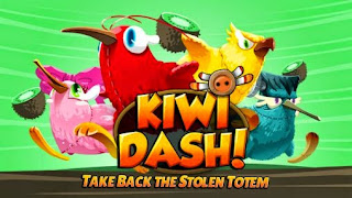 Screenshots of the Kiwi dash for Android tablet, phone.