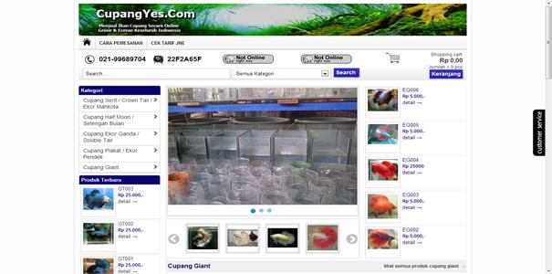 ikan Cupang , polisi online