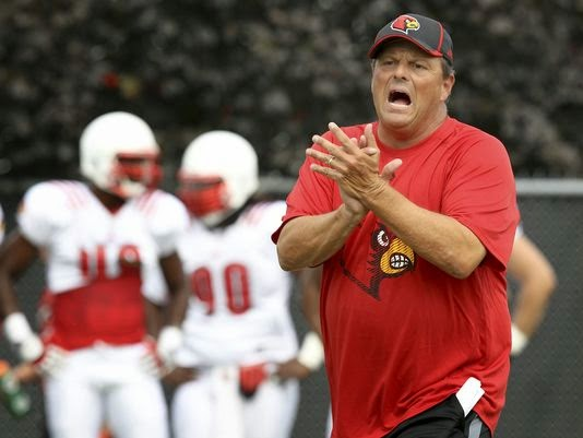 OOPS! Louisville DC Todd Grantham accidentally tweets out list of recruiting prospects from Georgia.