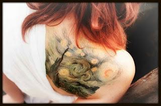 Tatuagem Artística Van Gogh