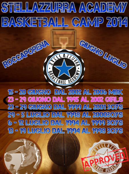 STELLAZZURRA BASKETBALL CAMP 2014