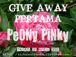 """ GIVEAWAY PERTAMA PEONY PINKY """