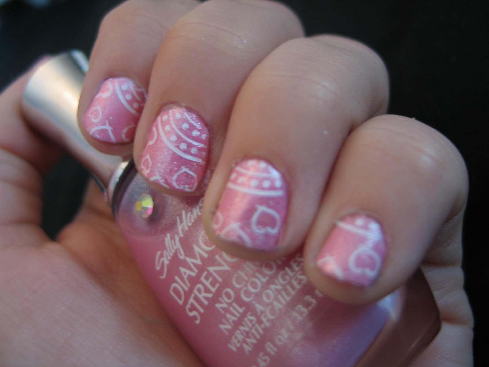 White Nail Polish Turning Pink | Hession Hairdressing