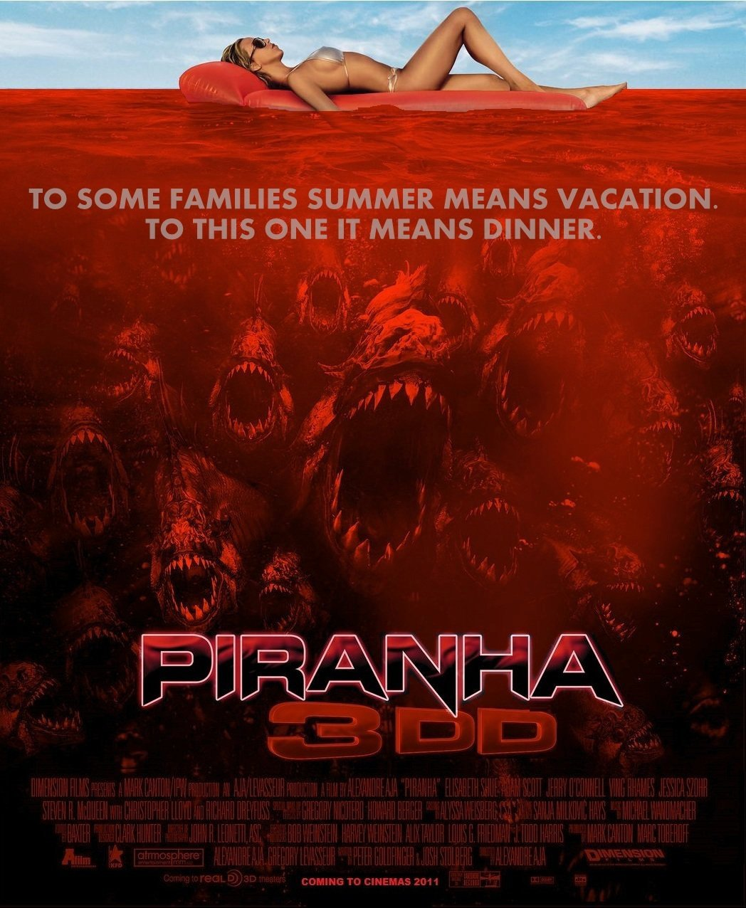 Piranha movie 3dd