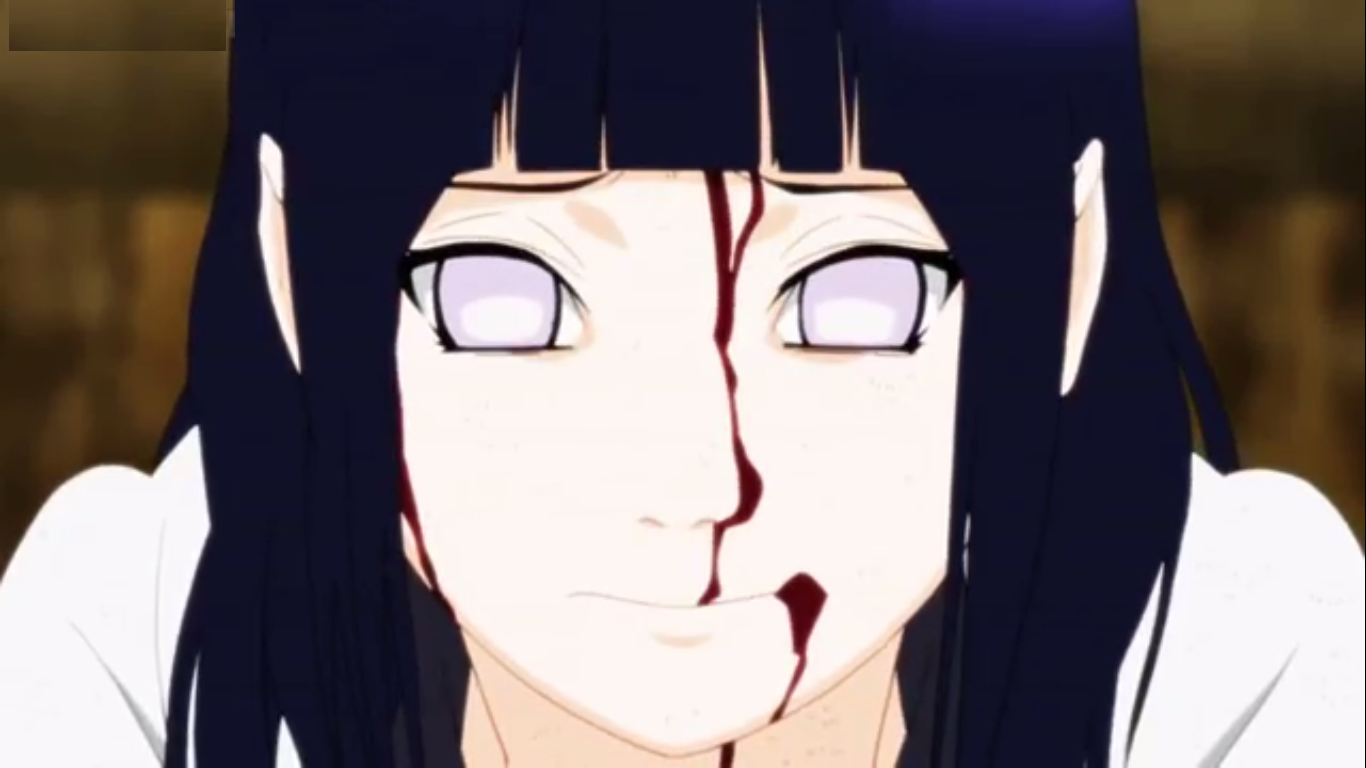 Hinata's fight with Pain