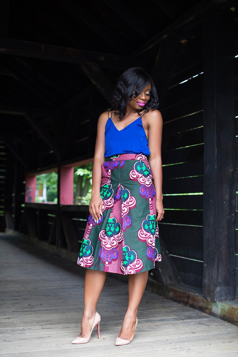 Attolle Clothiers Ankara skirt