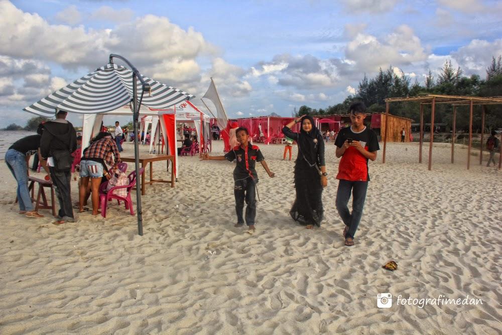 wisata pantai di medan sumatera utara