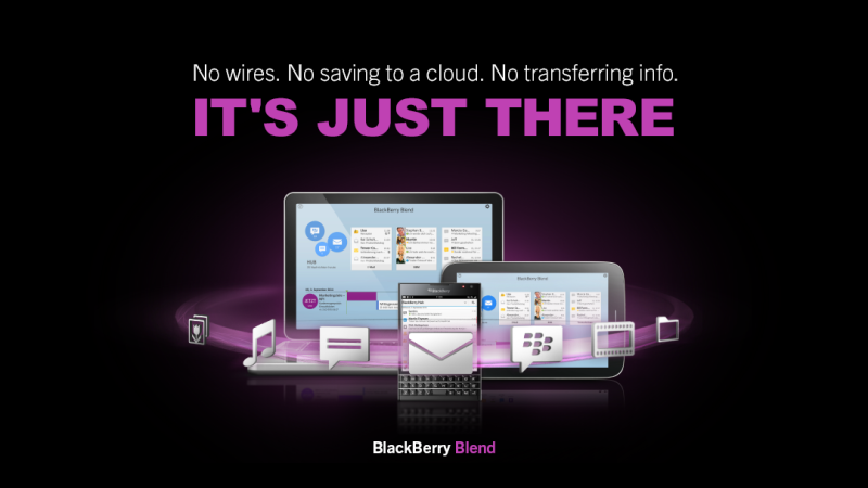 Blackberry Blend Pesan BBM Via PC
