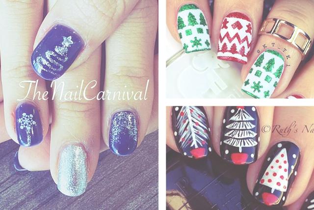 Ongles Noël Instagram Nail Art