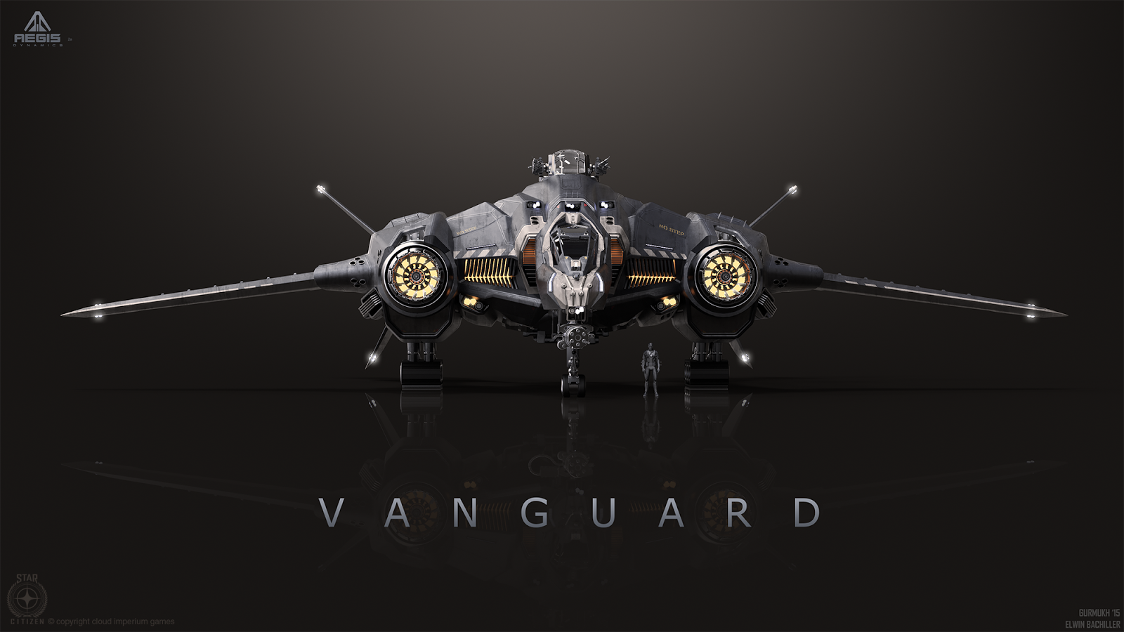 art of gurmukh bhasin vanguard concept art star citizen. Black Bedroom Furniture Sets. Home Design Ideas