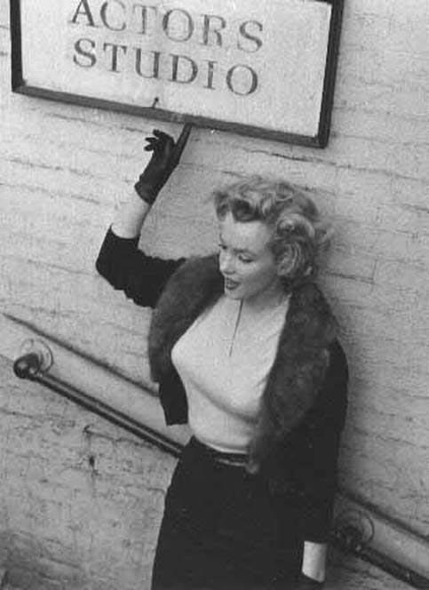 L'Actors studio : le meilleur atout du comédien ? Marilyn+MonroeActors+studio