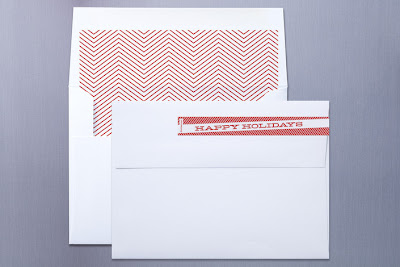 chevron cheer sarah brown minted holiday photo card mini book red white stripe christmas
