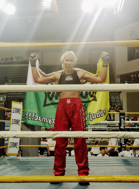 Emilia Czerwińska, Rimini, Best Fighter, Full contact, sport, sporty walki, treningi dla kobiet, Zielona Góra, Puchar Świata