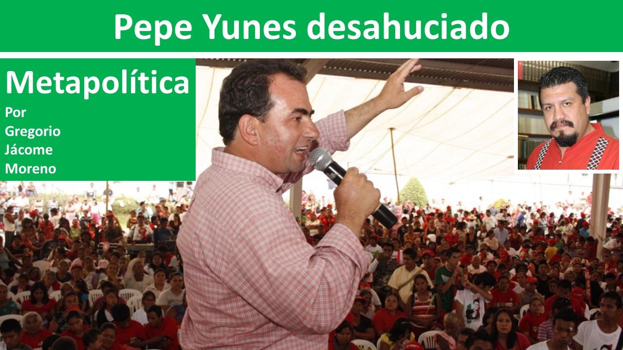 Pepe Yunes desahuciado