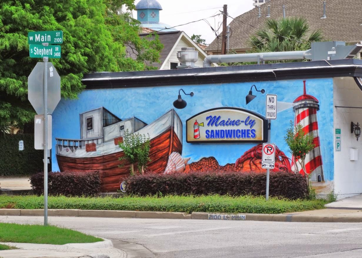 Houston in pics muralism houston style art walls in for 6 blocks from downtown mural