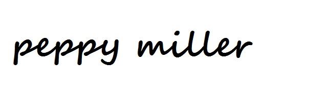 Peppy Miller
