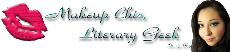 Makeup Chic, Literary Geek Beauty Blog