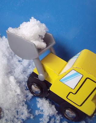 FAKE SNOW POLYMER BEADS