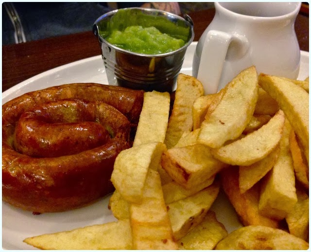 Curley's Dining Rooms, Horwich - Sausage