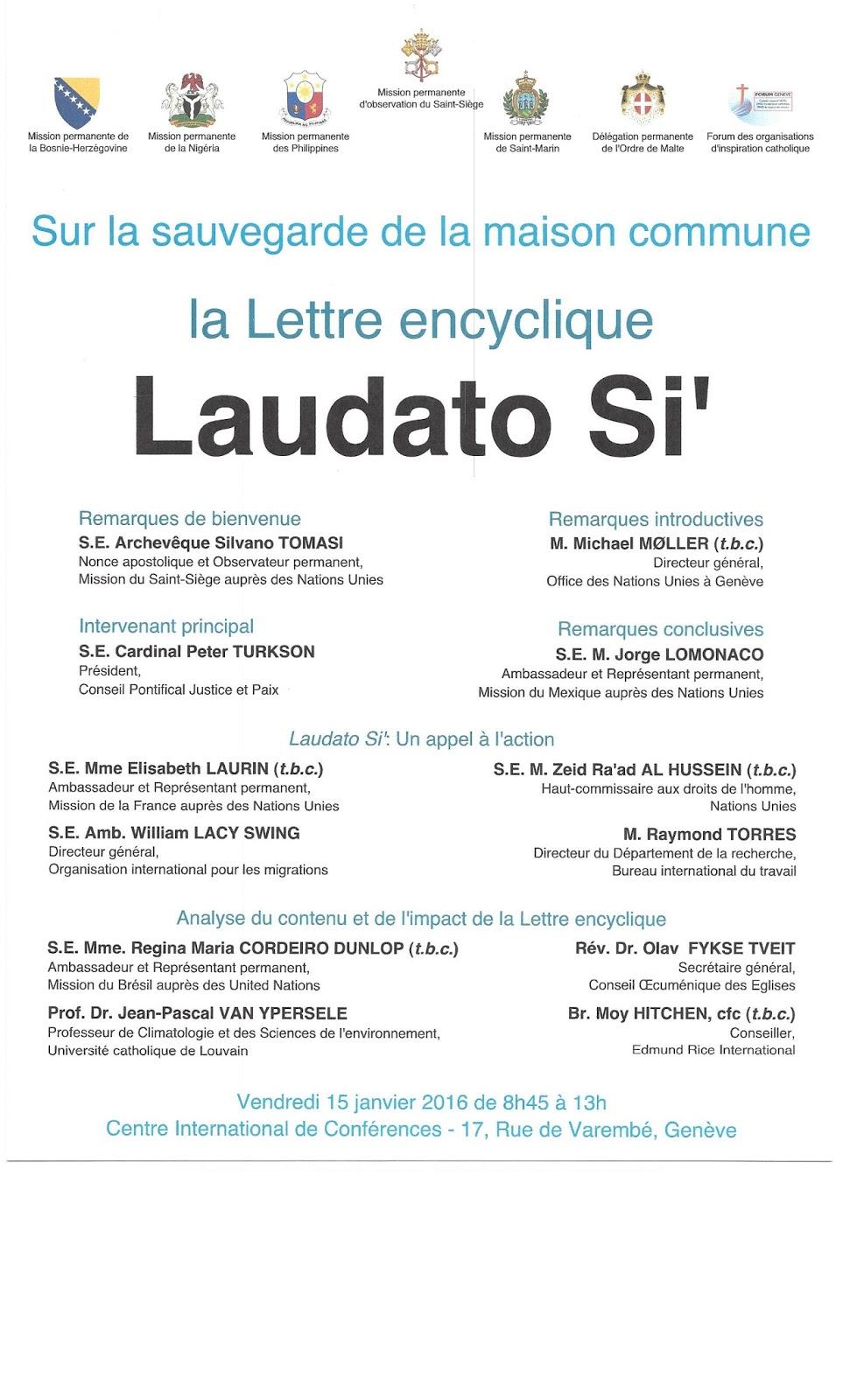 Invitation, Geneva, 15.01.2016