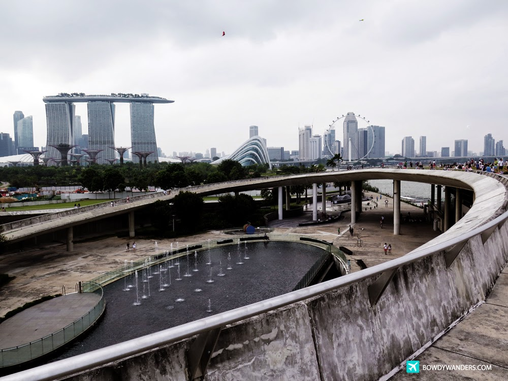 Marina Barrage:  This is How Singapore's Newest Weekend Reservoir Looks Like