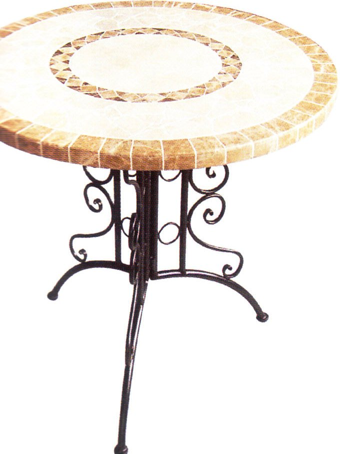 Pianeta casa tavoli tondi in ferro battuto for Pianeta casa
