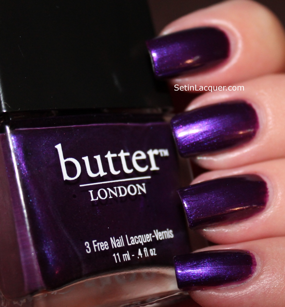 Set in Lacquer: Butter London