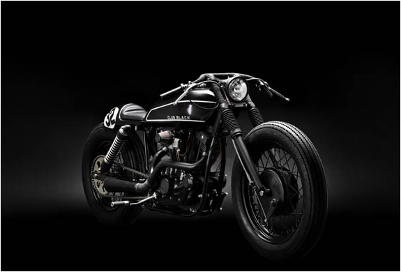 CUSTOM BUILT CLUB BLACK 02 MOTORCYCLE BY WRENCHMONKEES [ CLICK TO ENLARGE ]