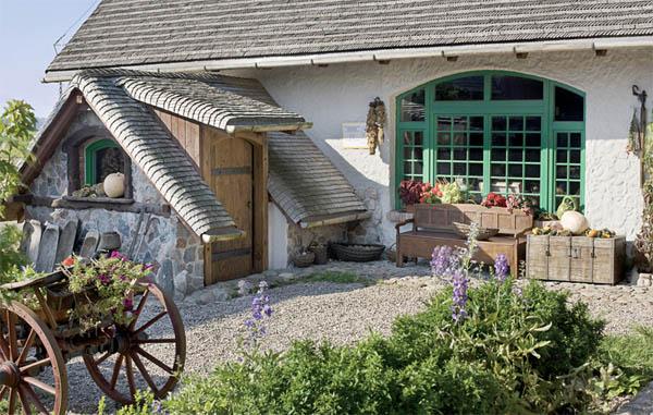 detalle del tejado de casa rustica patio varreta