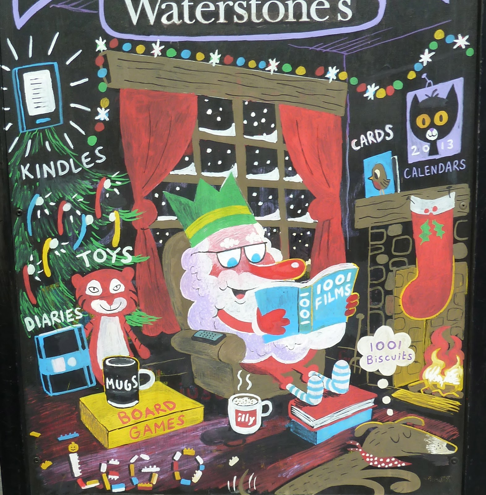 mark harrison s illustration blog christmas at waterstones