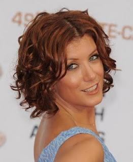 coiffure femme 2014 coupe carré floue sur une coloration rousse