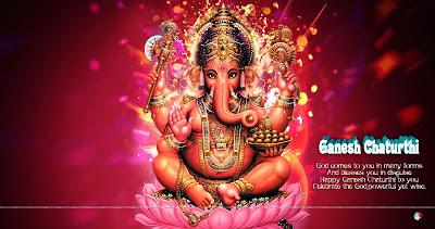 Ganesh Chaturthi Cards, Free Ganesh Chaturthi eCards, Greeting